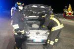 Incidente a Terme Vigliatore, tamponamento tra due auto: un ferito