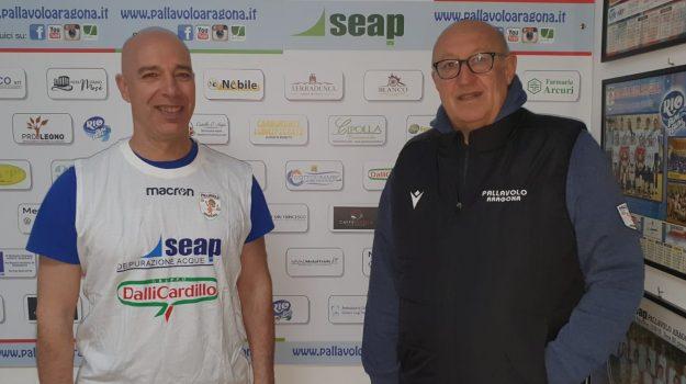 Seap Dalli Cardillo Aragona, volley, Massimo Catalano, Agrigento, Sport