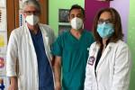 I medici del Cannizzaro di Catania con i defribillatori