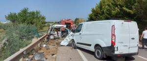 Tragico incidente tra Comiso e Santa Croce, 4 morti in uno scontro fra auto e furgone