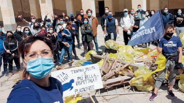 ambiente, plastica, rifiuti, Trapani, Cronaca