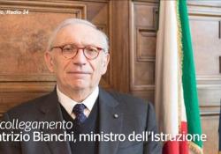 Scuola, Bianchi: «La direzione di marcia concordata è in presenza al 100%» Il ministro dell'Istruzione è intervenuto a Radio 24 sul tema del ritorno in aula - Ansa