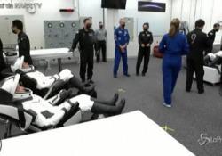 Space X, gli astronauti sulla rampa di lancio pronti per la missione Incontro con Elon Musk prima del volo spaziale - LaPresse/AP