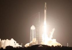 Space X, la Crew Dragon 2 decollata per la Iss: a bordo il primo europeo È partito alle 11:49 ora italiana con a bordo i quattro astronauti della Capsula Crew Dragon 2 - Agenzia Vista/Alexander Jakhnagiev