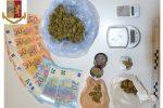 Caltanissetta, marijuana nascosta in casa: arrestato un pusher