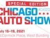 Torna il Chicago Auto Show, in programma dal 15 al 19 luglio