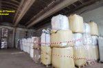 Siracusa, sequestrate 70 tonnellate di pellet con marchio contraffatto e 500 bombole Gpl