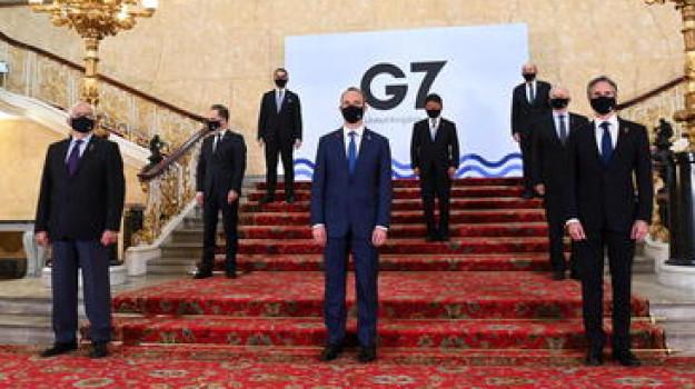G7, india, Sicilia, Mondo