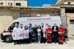 Asp di Siracusa, dalla Croce Rossa 5.000 igienizzanti per l'hub vaccinale