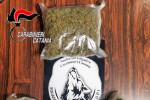 Catania, viaggiano con 1 kg di marjuana in macchina: arrestata coppia di conviventi