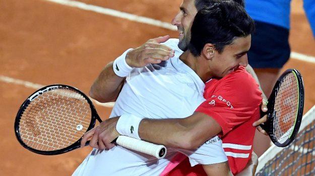 internazionali d'italia, Tennis, Lorenzo Sonego, Sicilia, Sport