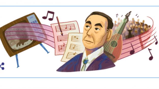 doodle di google, musica, Akira Ifukube, Sicilia, Cultura