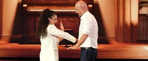Arisa e Rudy Zerbi, pace fatta col Tuca tuca sul palco: il siparietto alla finale di Amici