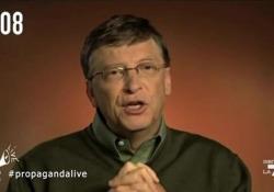 Bill Gates e Melinda divorziano dopo 27 anni: l'ironia di Fabio Celenza A Propagandalive su La7 «il documento esclusivo» sulle ragioni della separazione - Corriere Tv