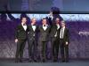 Daniel Humm e Will Guidara (Al centro), Eleven Madison Park, ricevono il premio per The Worlds Best Restaurant 2017