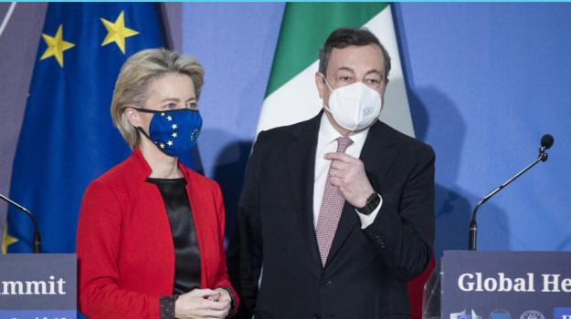 coronavirus, Mario Draghi, Sicilia, Politica