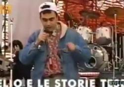 Elio e Le Storie Tese: «Noi censurati da Mollica al concerto del Primo Maggio del 1991» Il racconto della band a «Le invasioni barbariche» su La7 nel 2013 - Corriere Tv