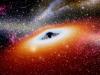 Rappresentazione artistica di un buco nero (fonte: Pixabay)