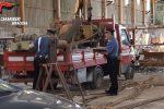 Melilli, due uomini sorpresi a rubare rame dall'outlet dismesso: arrestati