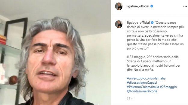 mafia, Giovanni Falcone, Ligabue, Sicilia, Società