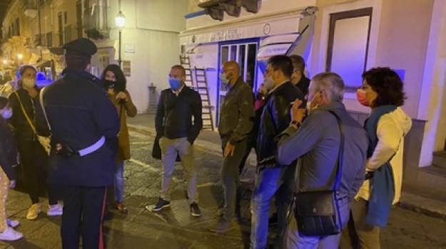 coprifuoco, lipari, Messina, Cronaca