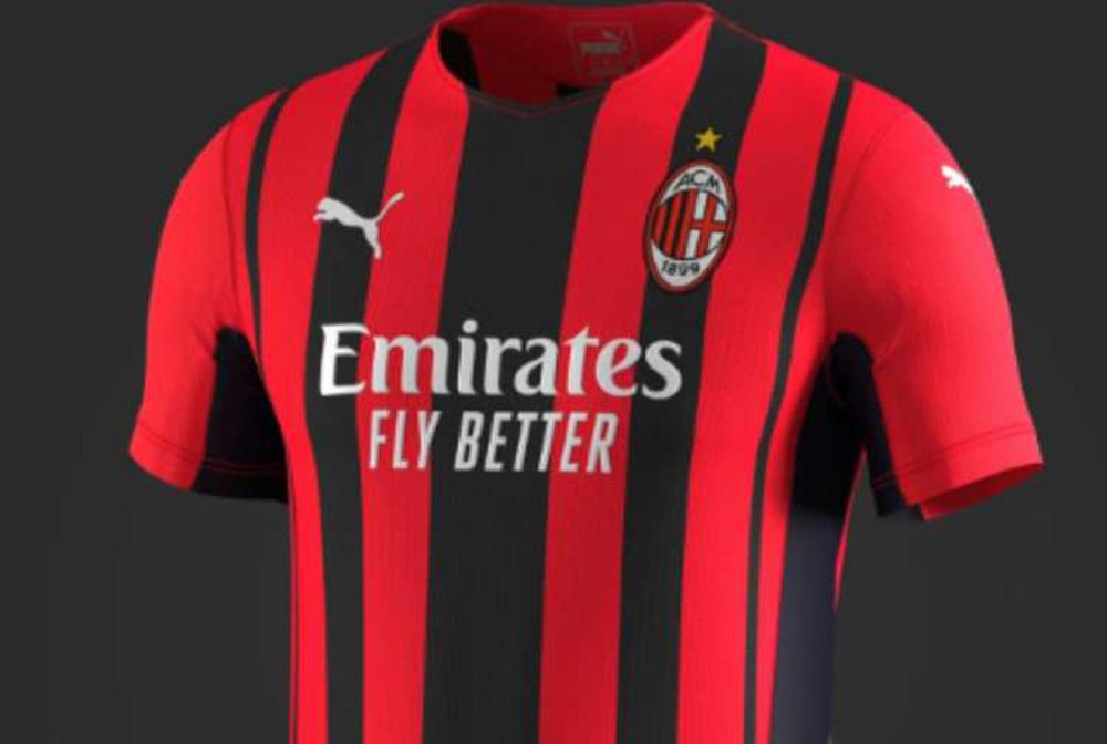 Presentata la nuova maglia del Milan, è a strisce rosse e nere di ...