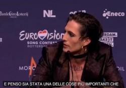 Maneskin, dalla musica di strada all'Eurovision: «Le prime registrazioni le abbiamo pagate con quei soldi» Il gruppo italiano in conferenza stampa a Rotterdam: «Non ci sembra vero, sono due anni che non suoniamo con un pubblico» - Ansa