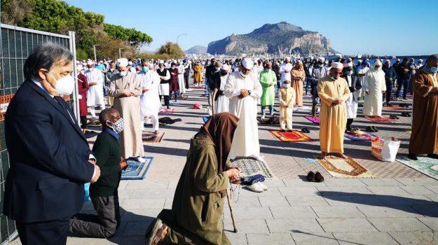 islam, Ramadan, Leoluca Orlando, Palermo, Cronaca