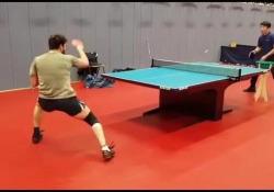 Ping pong, Ovtcharov piazza i colpi come un pendolo Dima Ovtcharov ha pubblicato su Instagram un suo ultimo allenamento in cui mostra il suo grado di perfezione - Dalla Rete