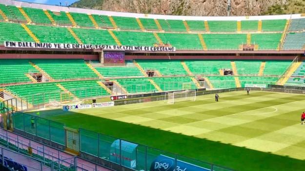 green pass, stadi, Sicilia, Calcio