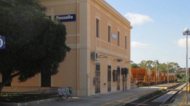 La stazione di Pozzallo