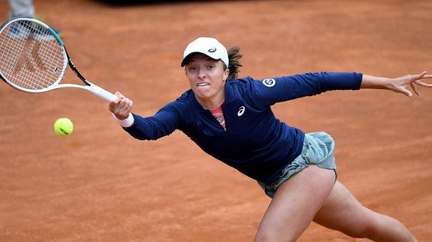 Tennis, Iga Swiatek, Sicilia, Sport