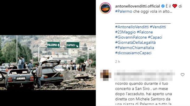 mafia, Antonello Venditti, Giovanni Falcone, Paolo Borsellino, Sicilia, Società