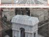 Christo/Arco di Trionfo impacchettato