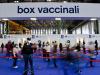 Un centro vaccinale in Italia