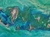 Il Mar Caspio visto dallo spazio (fonte: NASA, Norman Kuring e Kathryn Hansen)