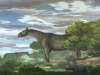 Rappresentazione artistica del  rinoceronte gigante vissuto in Asia  tra 34 e 23 milioni di anni fa (fonte: CHEN Yu)