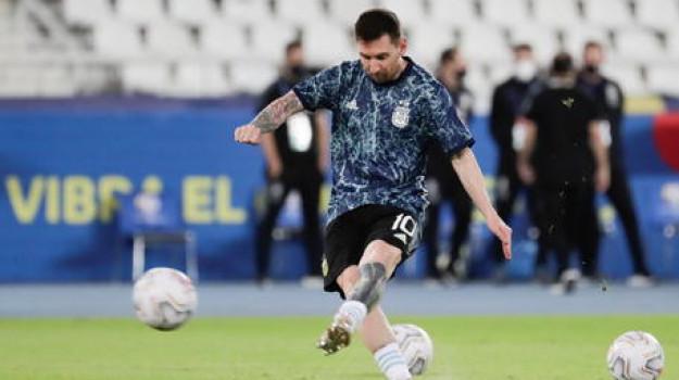 argentina, Cile, coppa america, Sicilia, Calcio