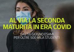 Al via la seconda maturità in era Covid: dal 16 giugno esami per oltre 500 mila studenti Inizia mercoledì 16 giugno la maturità 2021 - Ansa