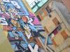 La street-art arriva sotto al ponte di Genova San Giorgio