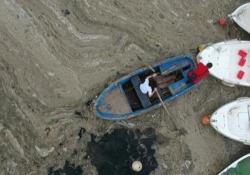 Coste turche invase dalla mucillagine, l'allarme degli ambientalisti Secondo gli esperti, causato da una combinazione di inquinamento e riscaldamento globale - Ansa