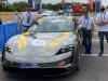 1000 Miglia Green, Mooney innovativa come Porsche Taycan
