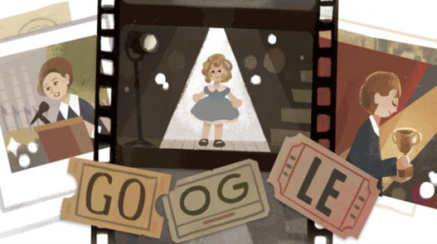 doodle di google, Shirley Temple, Sicilia, Cultura