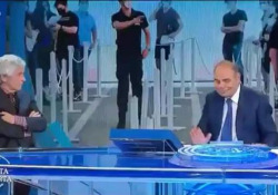 Gianni Rivera gela Vespa: «Vaccino? Non ci penso proprio» L'episodio durante la trasmissione «Porta a porta» - Corriere Tv