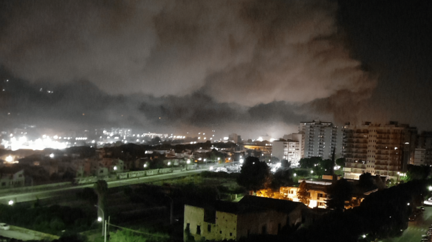 incendio, Palermo, Cronaca