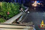 Incidente sulla Messina-Catania, intera famiglia coinvolta: morti padre e figlio di 14 anni, 4 feriti