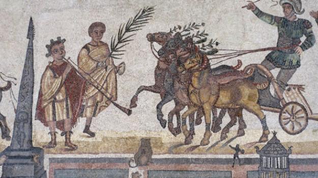 archeologia, mosaici, Enna, Cultura