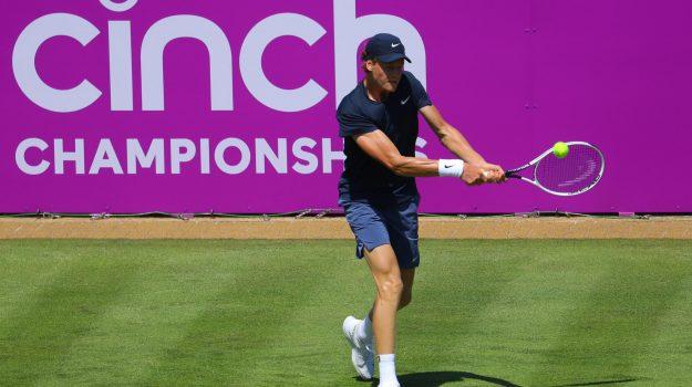 Tennis, Jannik Sinner, Roger Federer, Sicilia, Sport