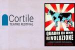 """Torna a Messina il Cortile teatro festival: si parte con lo spettacolo """"Quadri di una rivoluzione"""""""