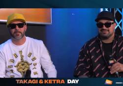 """Takagi & Ketra: «Avremmo voluto produrre noi """"Musica Leggerissima""""» Il duo campione dei tormentoni ospite all'Artista Day, l'iniziativa in collaborazione tra Corriere e Radio Italia  - Corriere Tv"""